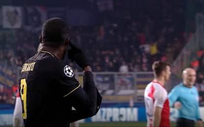 """Slavia Praga: """"No cori razzisti, Lukaku si scusi"""""""