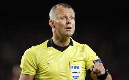 Kuipers arbitra Inter-Barça. Çakır per Napoli-Genk