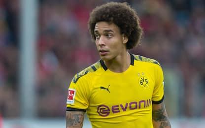 Borussia senza Witsel: cade a casa, torna nel 2020