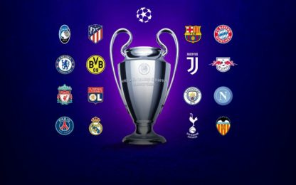 Champions League, tutte le qualificate agli ottavi