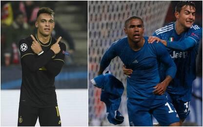 Miglior gol Champions: Lautaro e Costa in lizza