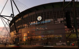MANCHESTER, ENGLAND - DECEMBER 29:  A general view outside the Etihad Stadium is seen prior to the Premier League match between Manchester City and Sheffield United at Etihad Stadium on December 29, 2019 in Manchester, United Kingdom. (Photo by James Gill - Danehouse/Getty Images)
