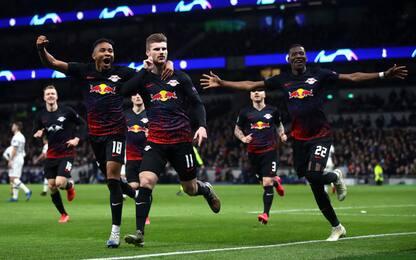 Colpo Lipsia: Werner stende il Tottenham di Mou