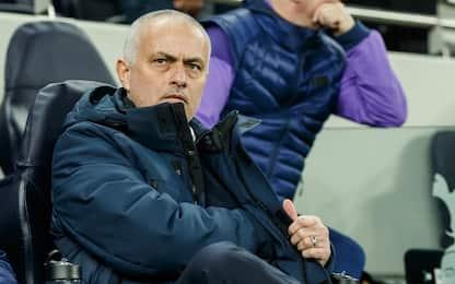 """Mourinho: """"Orgoglio Spurs, ma siamo in difficoltà"""""""