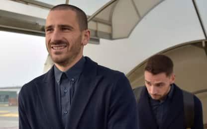 """Bonucci: """"Grande entusiasmo, Chiellini importante"""""""