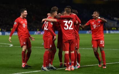Dominio Bayern a Londra: Chelsea schiantato 3-0