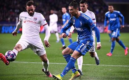 Juventus-Lione, dove vedere la partita in tv
