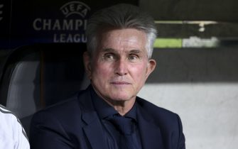 MUNICH, GERMANY - APRIL 25: Coach of Bayern Munich Jupp Heynckes during the UEFA Champions League Semi Final first leg match between Bayern Muenchen (Bayern Munich) and Real Madrid at the Allianz Arena on April 25, 2018 in Munich, Germany. (Photo by Jean Catuffe/Getty Images)