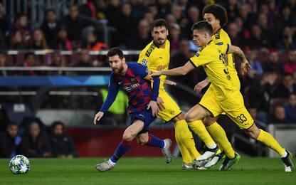 Dribblatori in Champions: tutti inseguono Messi