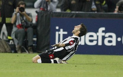 Del Piero, i gol più belli in Champions. VIDEO