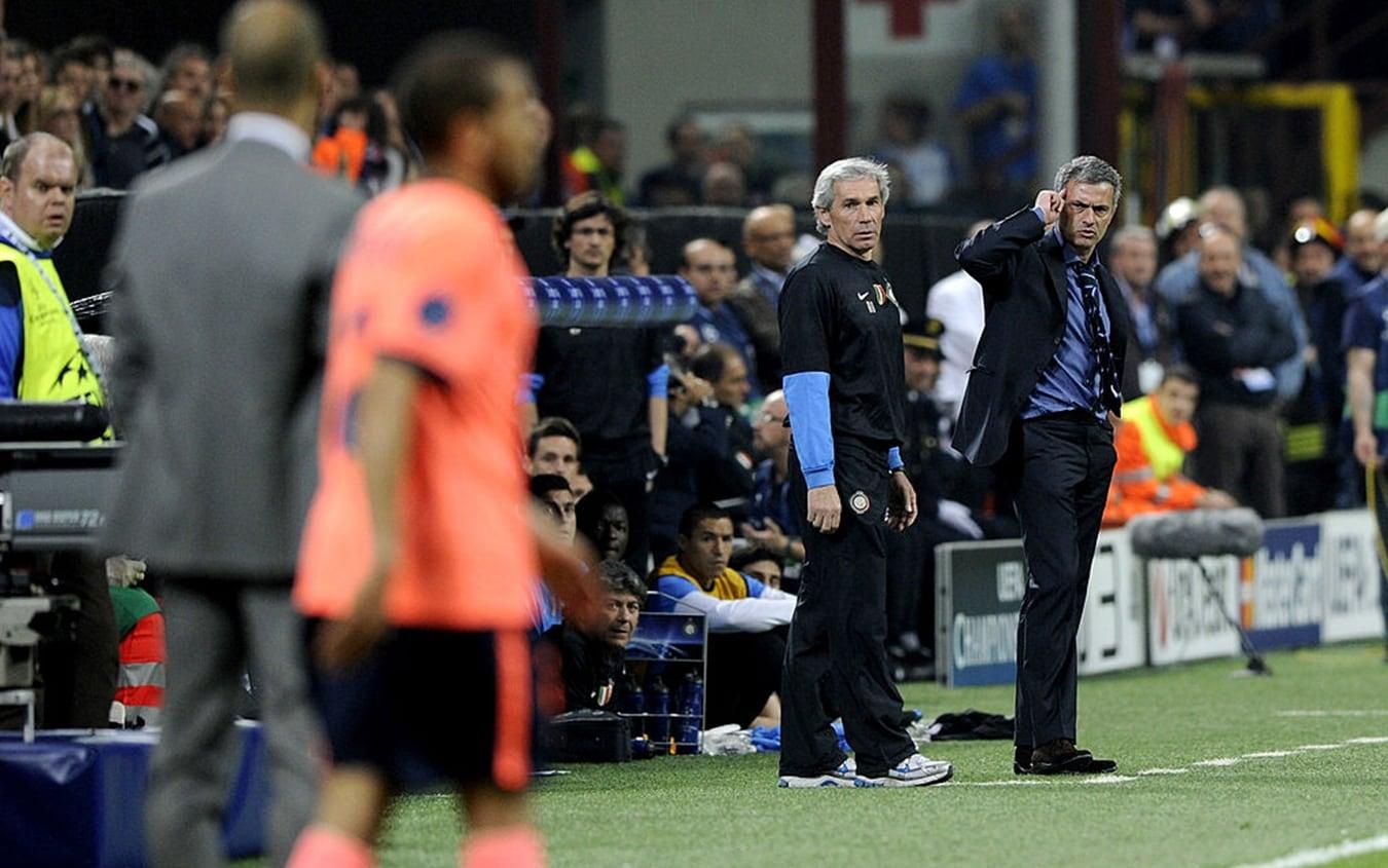 """José Mourinho """"sfida"""" Pep Guardiola"""
