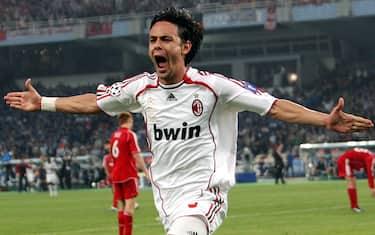 inzaghi gol milan champions ansa