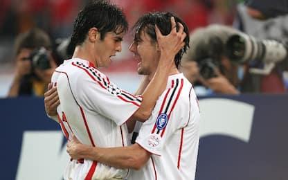 "Kakà e Inzaghi ricordano Atene: ""Segno divino"""
