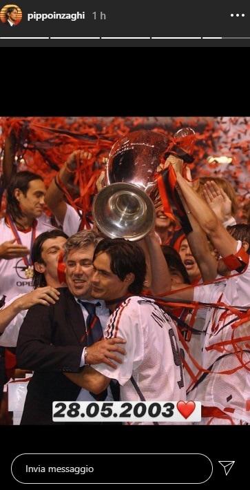 Inzaghi ricorda Manchester
