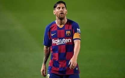 """Messi: """"Giocando così, perdiamo anche col Napoli"""""""