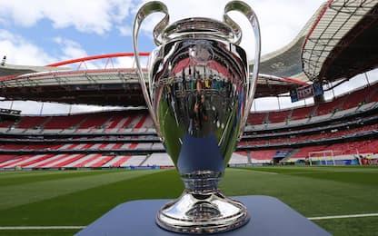 Champions, il calendario completo fino alla finale