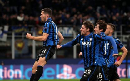 Champions League: tutti i gol dell'Atalanta. VIDEO