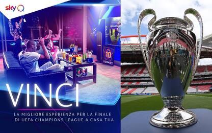 Finale Uefa Champions League a casa… vostra