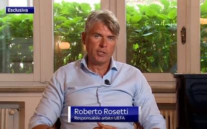 """Rosetti: """"Non si gioca con mani dietro la schiena"""""""
