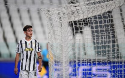 Beffa Dybala: entra ma si fa male dopo 14'. VIDEO