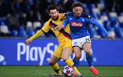 Barcellona-Napoli, dove vedere la partita in tv