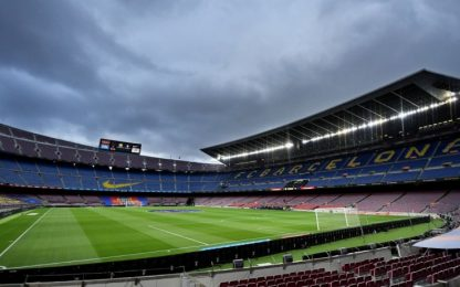 Camp Nou chiuso per 1 anno: Barça valuta 2 opzioni
