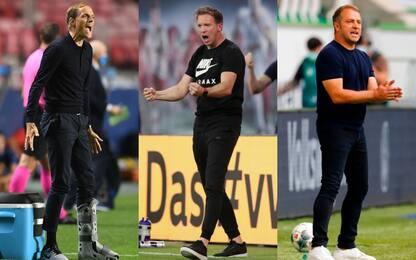Tre allenatori tedeschi in semifinale: è record
