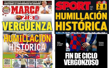 """Vergogna"", ""Umiliazione storica"": rassegna stampa"
