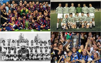 Non solo Bayern: gli altri Triplete della storia