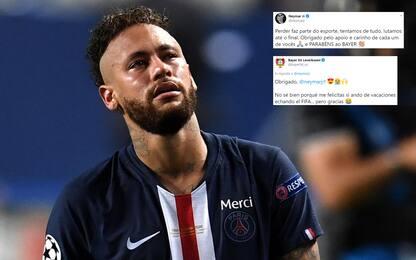 Neymar fa i complimenti, ma sbaglia squadra!