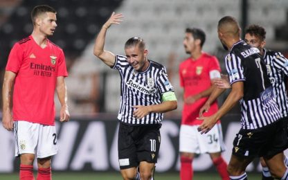 Il Paok elimina il Benfica: ok Gent e Dinamo Kiev