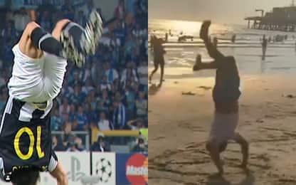Del Piero come nel 2008: esultanza amarcord. VIDEO