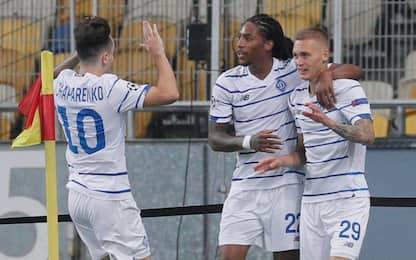 Dinamo Kiev, Ferencvaros e Olympiacos ai gironi