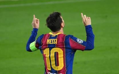 Nessuno come Messi, in gol in 16 Champions di fila