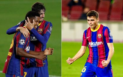 Fati+Pedri, baby d'oro: i record del giovane Barça