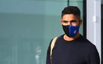 Inter, Hakimi negativo al tampone del Covid