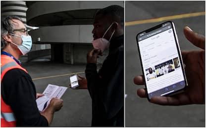 """""""Ha un documento?"""", Thuram cerca le foto su Google"""