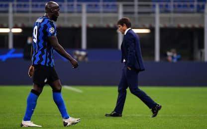 Super Lukaku salva l'Inter: col Gladbach è 2-2