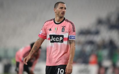 Niente lesioni per Bonucci, in dubbio col Barça