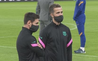 """Pjanic: """"Ho detto a Messi quanto è grande la Juve"""""""