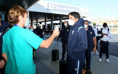Lazio, positivi componenti del gruppo squadra