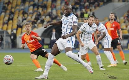 Shakhtar-Inter 0-0 LIVE: traversa di Lukaku