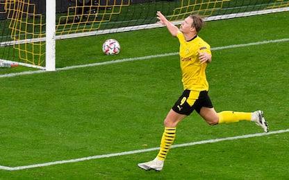 Haaland batte tutti: 12 gol in solo 10 partite
