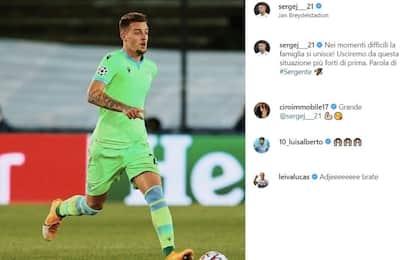 """Milinkovic-Savic: """"Ne usciremo più forti di prima"""""""