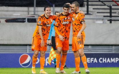 Doppio Morata e Dybala, Ferencvaros-Juve 1-4