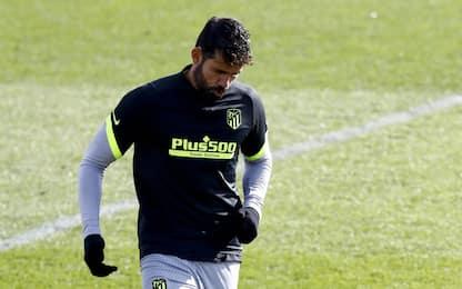 Atletico, trombosi venosa per Diego Costa