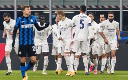 Inter, ottavi più lontani: 2-0 Real a San Siro