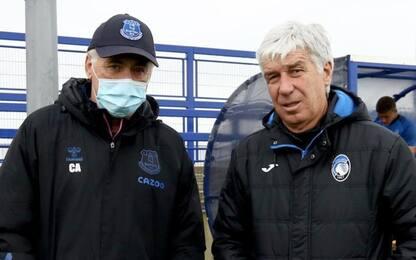Rifinitura Atalanta, Ancelotti 'gradito ospite'