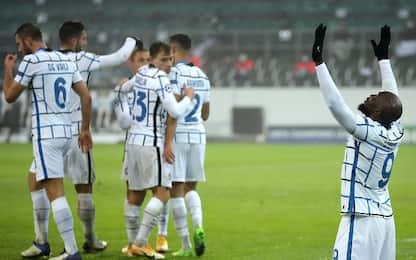 L'Inter vince e spera ancora, 'Gladbach ko 3-2