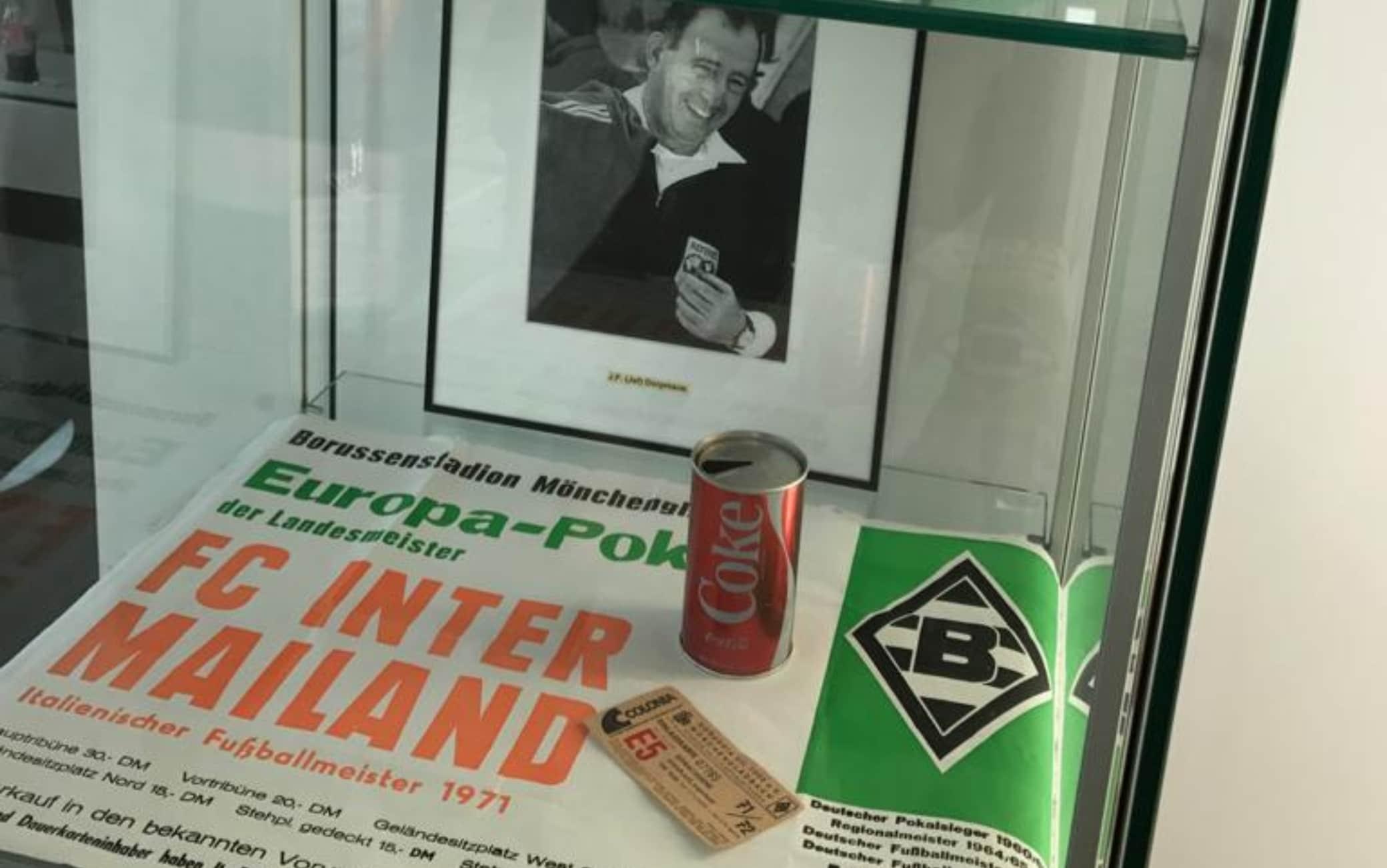 """La """"partita della lattina"""" è ricordata anche nel Museo del Borussia"""